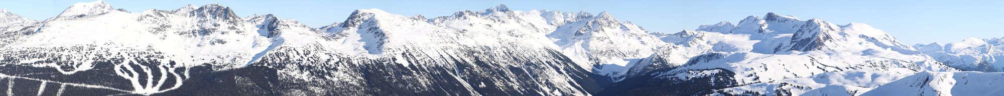 Whistler Resort Mountains
